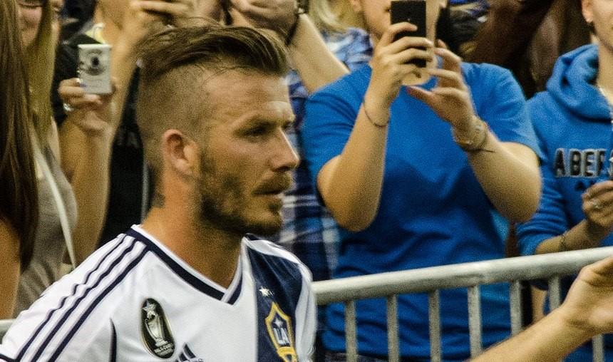 David Beckham- la contre-découpe