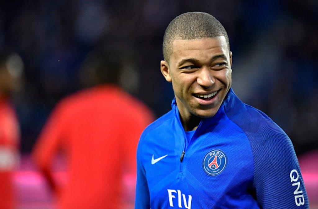 Joueur de football - Kylian Mbappe